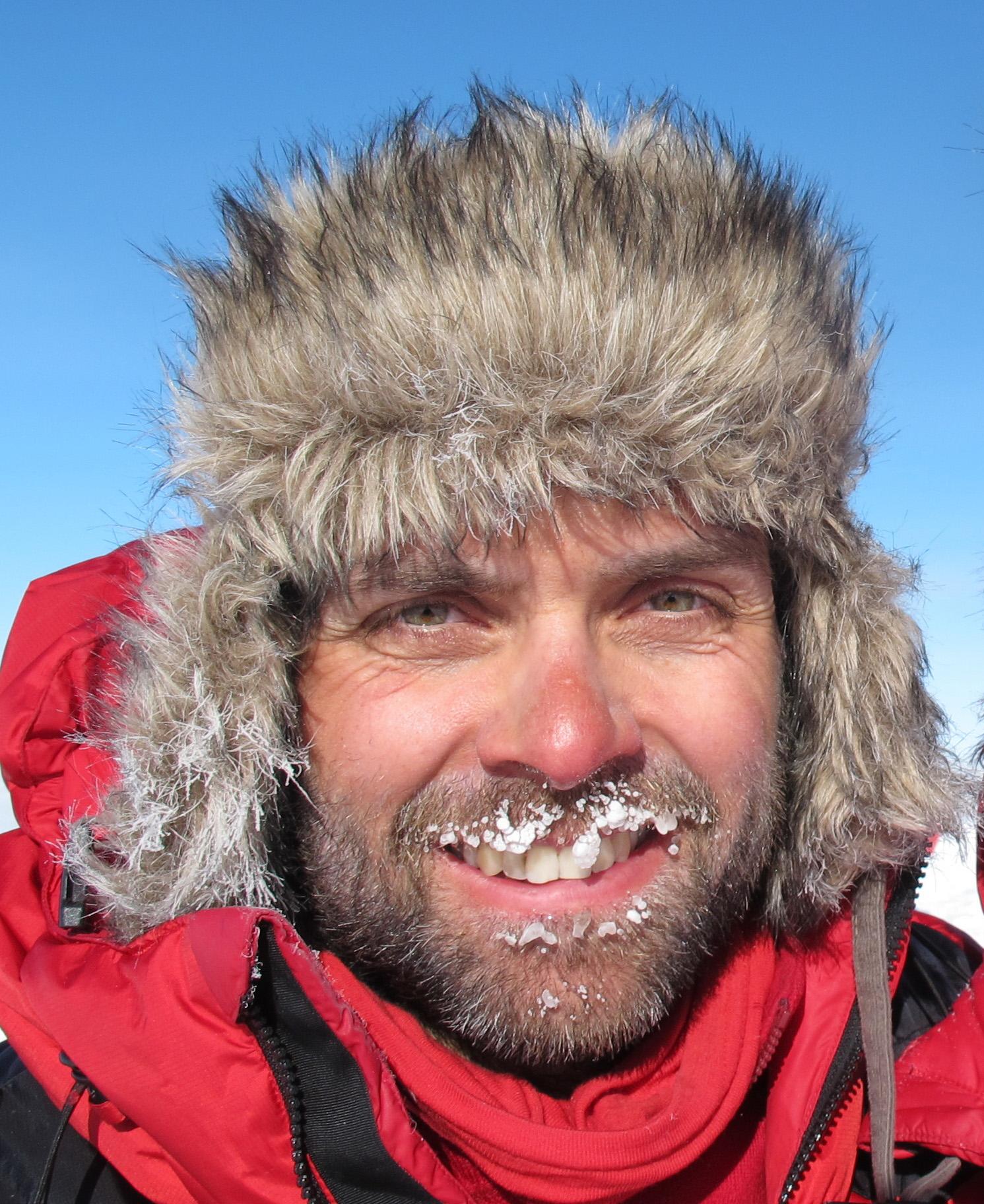 """""""Sivert"""" på Sydpolekspedisjon i 2011"""